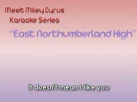 East Northumberland High Miley Cyrus Official Instrumental