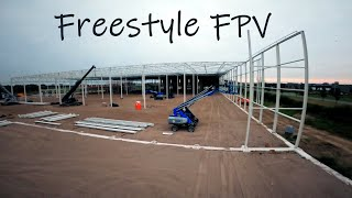 Freestyle FPV - Construction Site