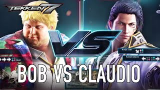 Bob VS Claudio