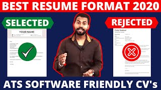 Best Resume format 2020 | This Resume Selected For Job