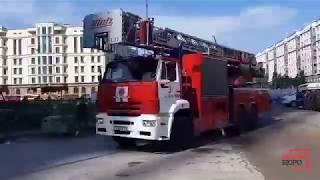 """Пожарные учения в """"Абу-Даби Плаза"""""""