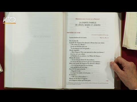 Fête de la Sainte Famille B - 1ère lecture