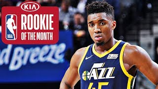 Donovan Mitchell | Rookie of the Month | January 2018 | Kholo.pk