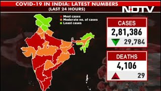 Covid-19 News: India's Daily Covid Cases Fall Below 3 Lakh, First Since April 21