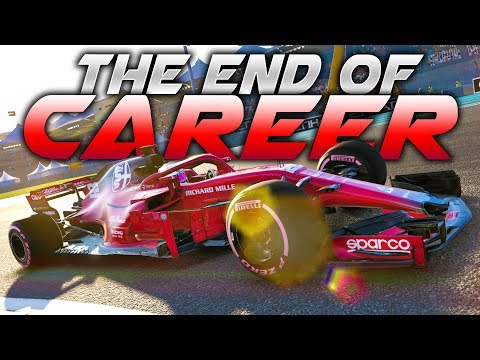 GOODBYE F1 2018 CAREER! SERIES FINALE, THE FINAL RACE! - F1 2018 Career Mode Part 168