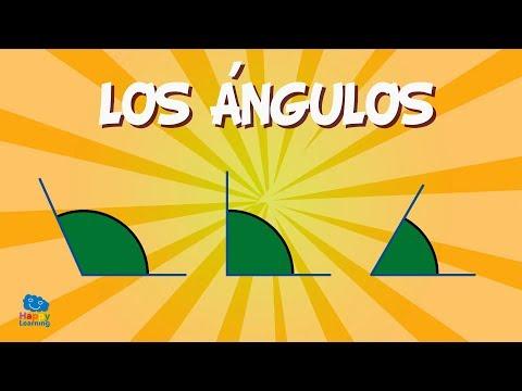Los Ángulos | Vídeos Educativos para niños