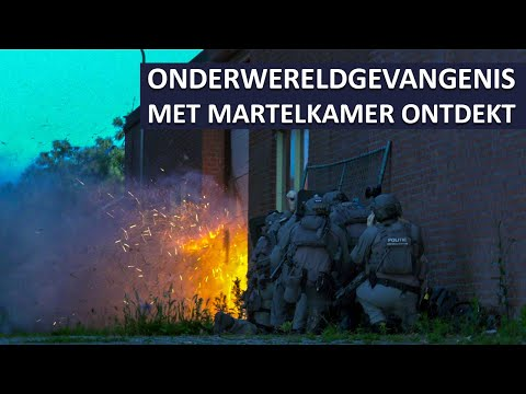 Multiple torture chamber found hidden in shipping container in the Netherlands (No Subtitles)