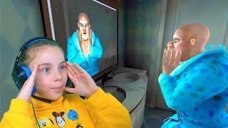 ЛЫСАЯ Учительница Мисс Ти! Scary Teacher 3D