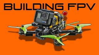 Building FPV drone✔️ (whole process) +????TEST FLIGHT????