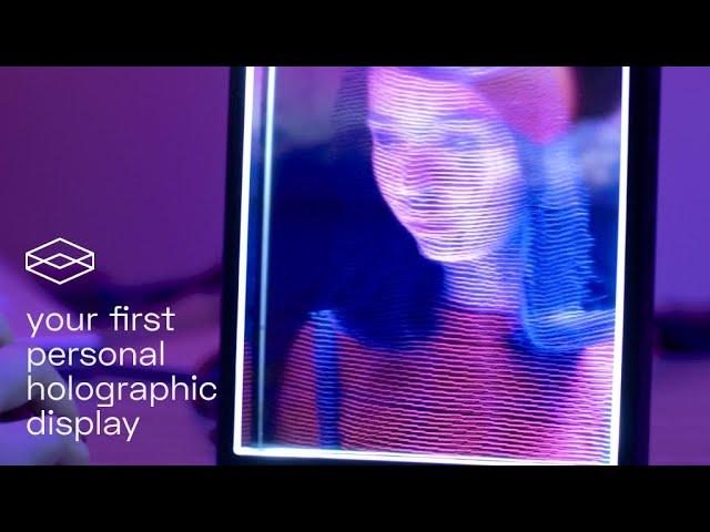 Сервис Looking Glass Factory превратит любую фотографию втрехмерную голограмму