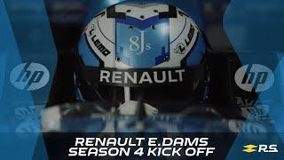 Renault e.dams - Season 4 kick off