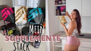 Welche Nahrungsergänzungen nehme ich? Evi's Supplemente Stack #supplemente #esn #fitmart