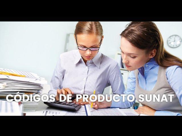 Códigos de Productos SUNAT