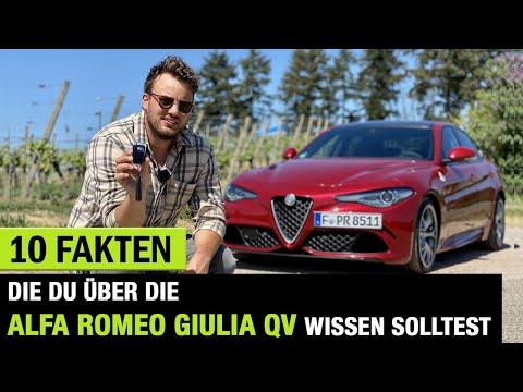 10 Fakten❗️die DU über DIE 2020 Alfa Romeo Giulia Quadrifoglio 🍀wissen solltest! Fahrbericht|Review