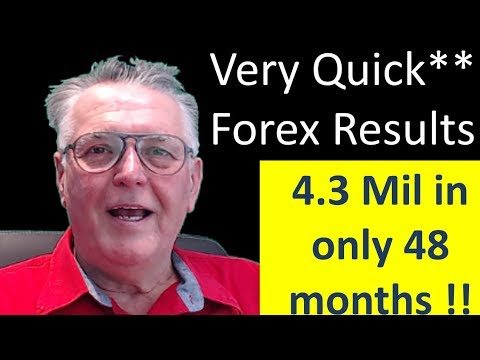 How I made a Quick & Easy 4,3 Million in 48 Months doing Forex Trading. See how you can do it too !
