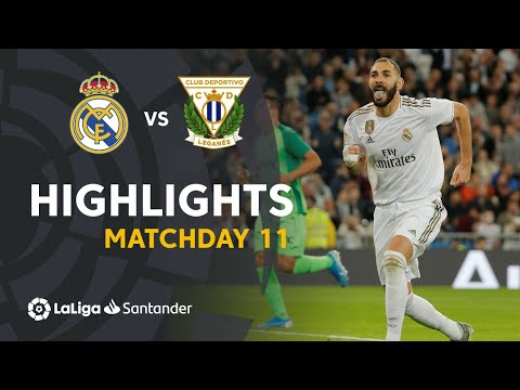 Highlights Real Madrid vs CD Leganés (5-0)