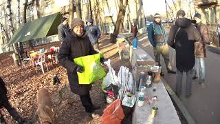 В Кунцево жители охраняют сквер от точечной застройки