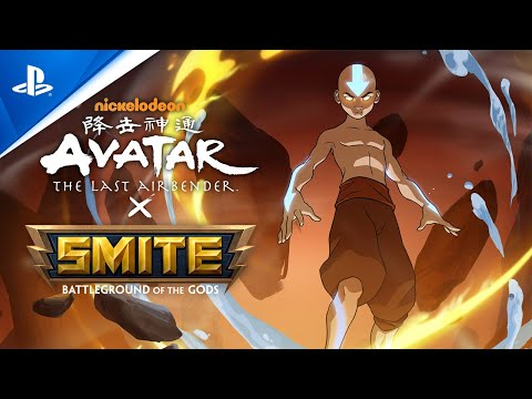 Smite - SMITE x Avatar: The Last Airbender Battle Pass Reveal   PS4
