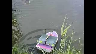 Прикормочный кораблик для рыбалки в краснодаре