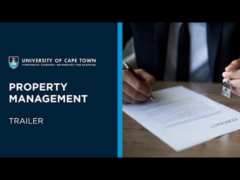 UCT Property Management Online Short Course | Trailer - YouTube