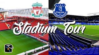 ⚽ Liverpool Everton Stadium Tour - Anfield vs Goodison Park