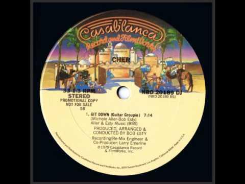 "CHER-Git Down (Guitar Groupie) 12"" EXTENDED VERSION"