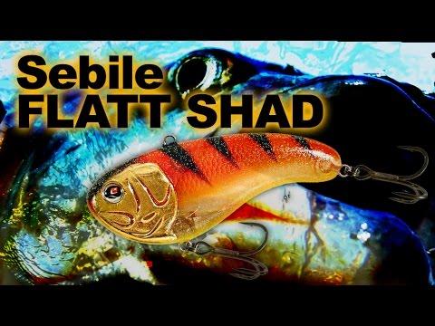 Sebile Flatt Shad Extra Heavy 50 videó