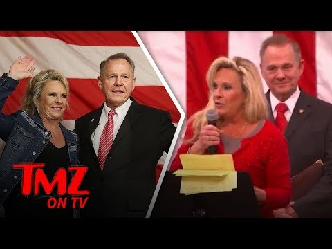Roy Moore and His Wife Love Jewish People | TMZ TV