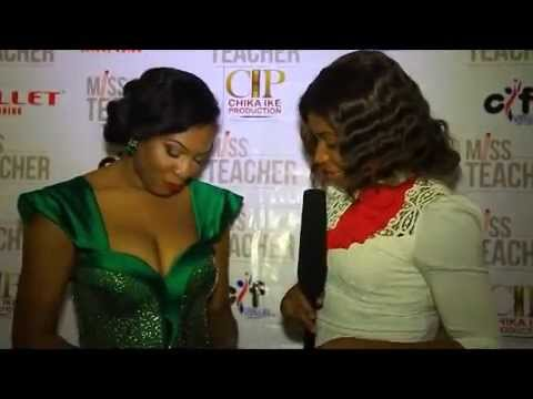 Chika Ike's Miss Teacher Film Premier