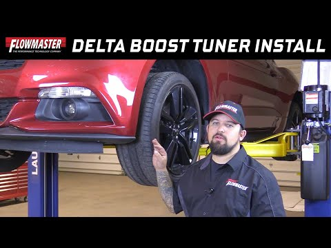 Flowmaster Delta Boost Performance Tuner for 1.6L, 2.0L, 2.3L, 2.7L Ford EcoBoost - Part #18101