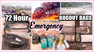 72 HOUR EMERGENCY BUG OUT BAG ESSENTIALS | HOW TO PREPARE YOUR GO KIT LIST 2020 | COVID 19 PREP