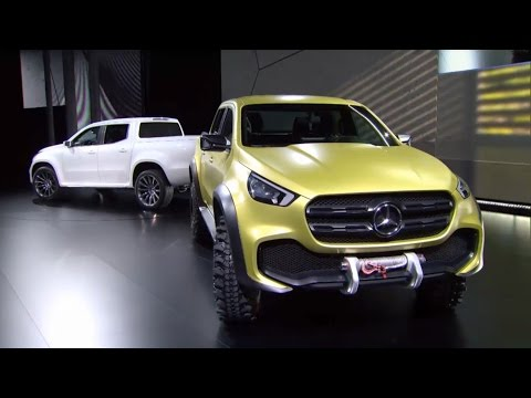 Mercedes-Benz Concept X-Class Revealed in Stockholm