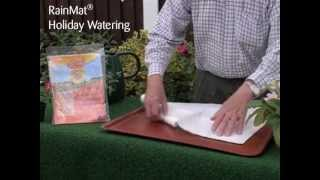 Holiday Mat - Water your plants while on holiday