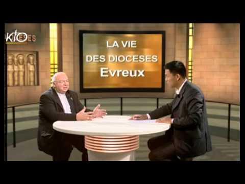 Mgr Christian Nourrichard - Diocèse d'Evreux