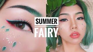A Summer Fairys Makeup 🍃  Vivekatt