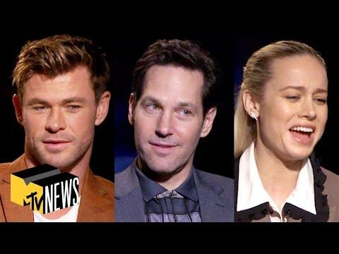 'Avengers: Endgame' Cast Play Name That Avenger   MTV News