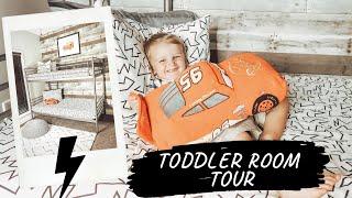 TODDLER ROOM TOUR | BEDROOM MAKEOVER | BIG BOY ROOM
