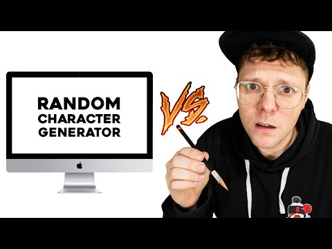 I Draw ANYTHING this Random Character Generator says!