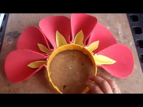 Disfraz: Flor (Diadema con petalos)