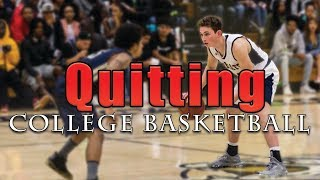 I needed a new start || Quitting College Sports Led to New Dreams