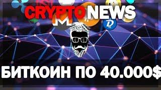 Биткоин 40 000$ или ПИРАМИДА? Новости из мира криптовалют • Cryptonews