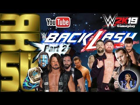 Gameplay WWE 2K19 - RRSU - Backlash - Pt.2/5 │incl. Fatal 4 Way Intercontinental Championship Match