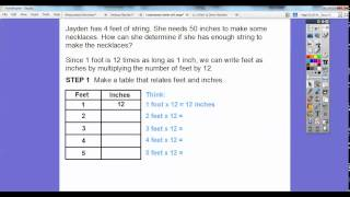 Customary Units of Length - Lesson 12.2