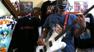 FRENZAL RHOMB - Russell Crowe's Band(BASS Cover)