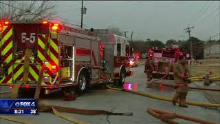 Irving church known for helping homeless burns down