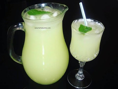 Lemon And Ginger Healthy Juice