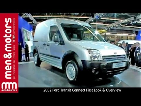 Review of the 2002 model Ford Connect at the motor show launch