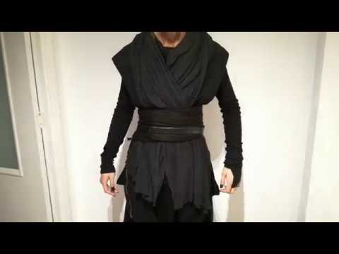 Disfraz de Sith, el mejor y más fácil, casero y GRATIS con bufanas, pantalones y ropa ancha