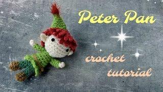 Peter Pan Amigurumi - Free Crochet Pattern And Tutorial