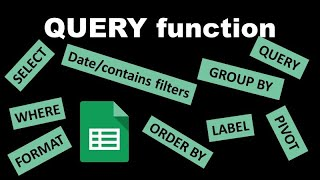 QUERY Complete guide: Google Sheets' most complex function